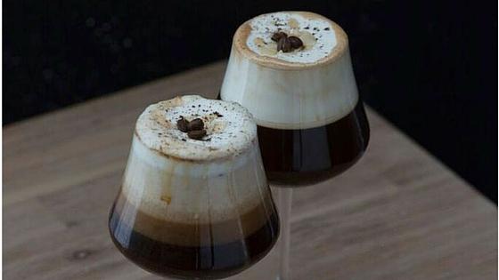 A SIMPLE IRISH COFFEE