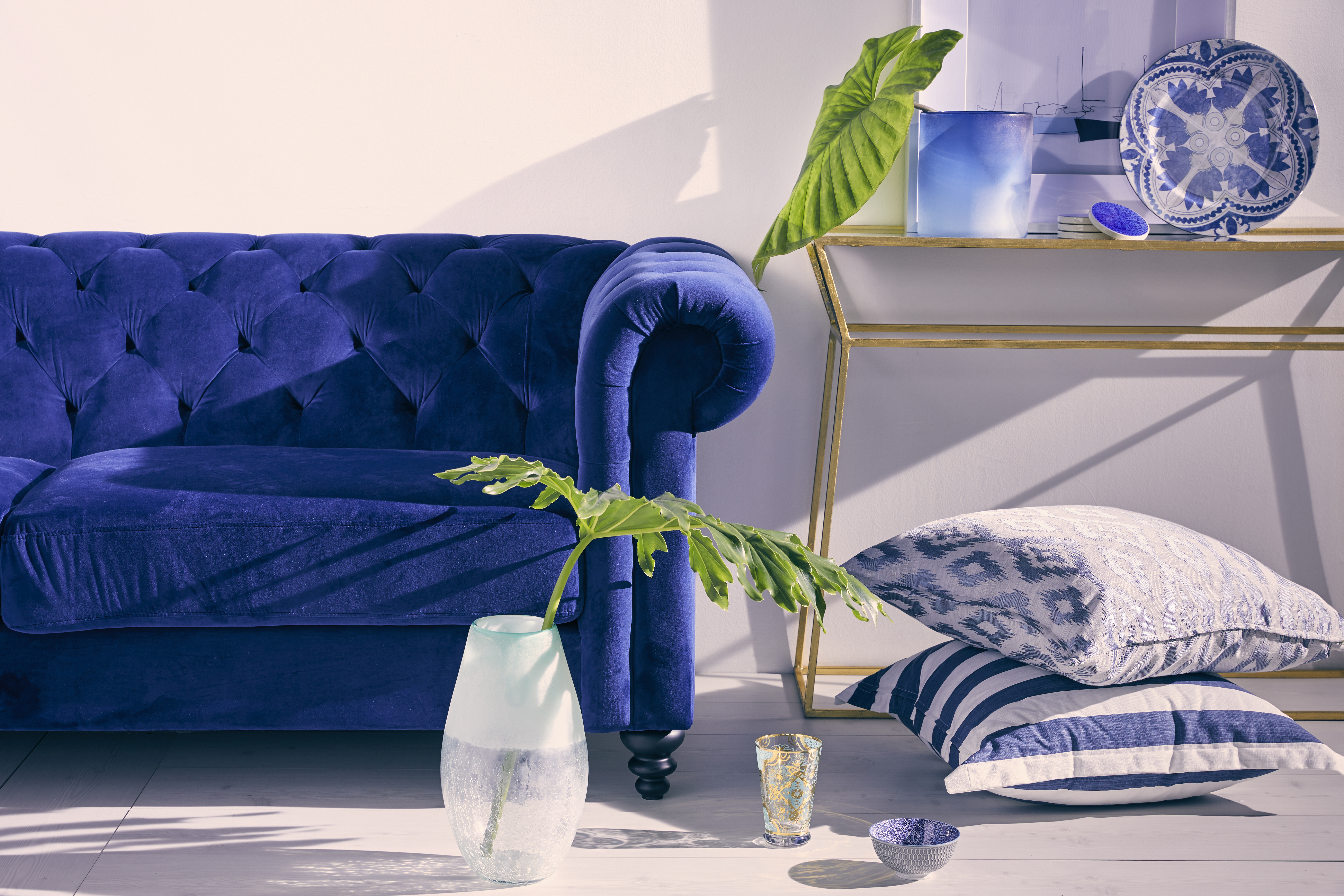 A TOUCH OF BLUE IN EVERY ROOM