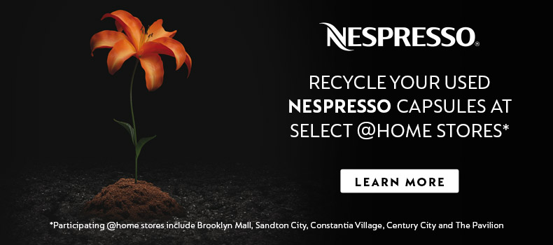 RECYCLE WITH NESPRESSO & @HOME