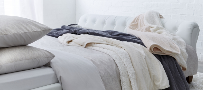 Layer your bed for optimum warmth