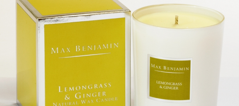 MAX BENJAMIN: HAND-POURED CANDLES AND LUXURY FRAGRANCES