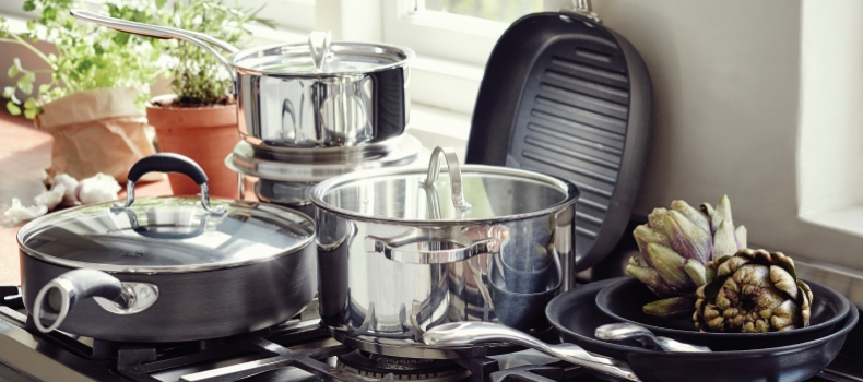 A GUIDE TO CHOOSING POTS AND PANS