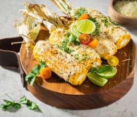 JUAN'S MEXICAN SPICY GRILLED CORN