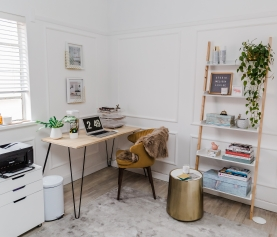 TRANSFORMED! HOME OFFICE MAKEOVER