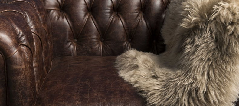 HOW TO CARE FOR YOUR LEATHER FURNITURE