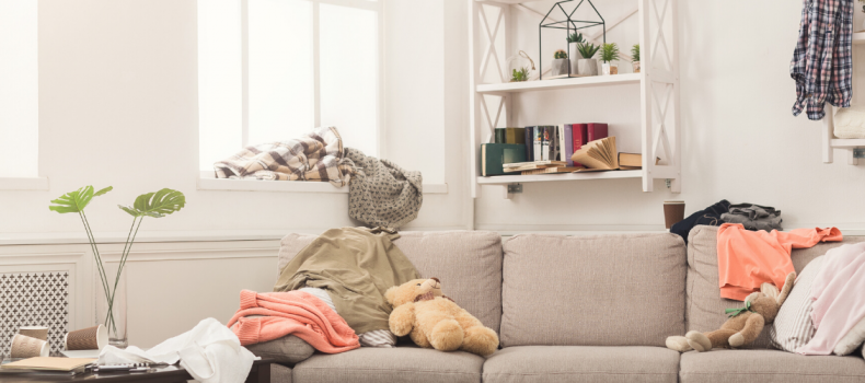 3 simple rules to follow when organizing your home